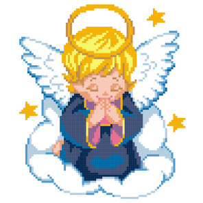 Ангел Набор для вышивания МП Студия КН-383