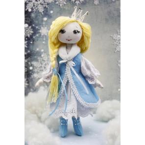 Снежная царевна Набор для создания игрушки своими руками ДЦ-1001
