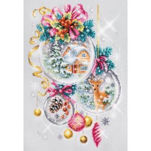 Рождественская сказка Набор для вышивания Чудесная игла 100-247