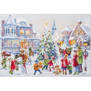 Накануне рождества Набор для вышивания Чудесная игла 100-250