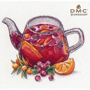 Ягодный чай Набор для вышивания Овен 1364