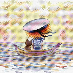 По волнам Набор для вышивания МП Студия М-594
