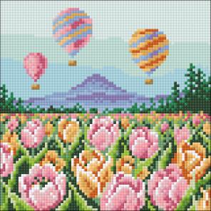 Воздушные шары Алмазная мозаика вышивка Гранни AG2556