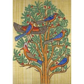 Дерево жизни Ткань с нанесенным рисунком для вышивки бисером Конек 8500