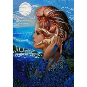 Шум моря Ткань с нанесенным рисунком для вышивки бисером Конек 8515