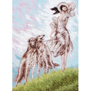 Три грации по мотивам картины Луи Икара Набор для вышивания Палитра 11.014