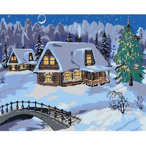 Ночь перед рождеством Раскраска по номерам на холсте Живопись по номерам RA131