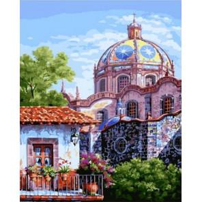 Чудесный город Раскраска картина по номерам на холсте GX38464