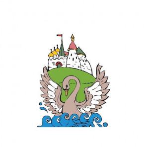 Царевна-лебедь Раскраска картина по номерам на холсте CX3441