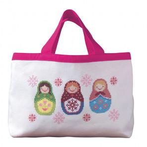 Матрёшки Набор для вышивания сумки XIU Crafts 2860207
