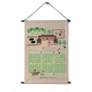 Счастливая жизнь за городом Набор для вышивания XIU Crafts 2870901