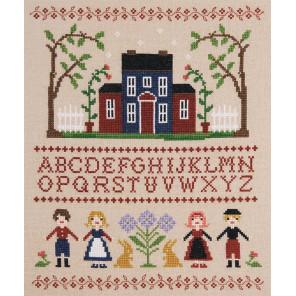 Буквы и куклы Набор для вышивания XIU Crafts 2032409