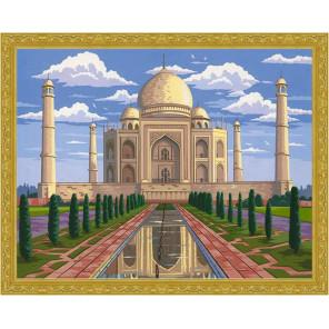 Тадж-Махал Алмазная мозаика на подрамнике WB5787