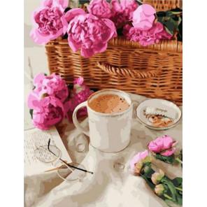 Ароматный кофе Раскраска картина по номерам на холсте GX38983