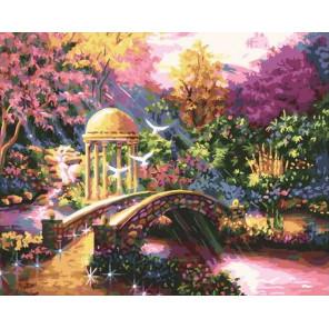 Мостик в сказке Раскраска картина по номерам на холсте GX38900