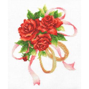 Букет двух колец Набор для вышивания Многоцветница МКН 42-14