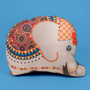Слон Подушка декоративная фигурная Матренин посад 9166