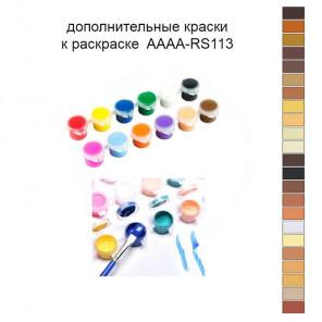 Дополнительные краски для раскраски AAAA-RS113