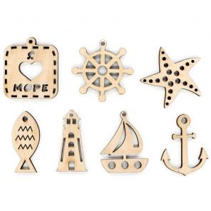 Набор морских декоративных элементов ОР-098