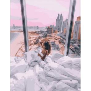 Утро в пентхаусе Раскраска картина по номерам на холсте PK11126