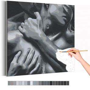 Крепкие объятия Раскраска картина по номерам на холсте AAAA-RS092