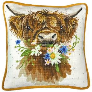 Воркующий Дэйзи Набор для вышивания подушки Bothy Threads THD42