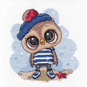 Совёнок-морячок Набор для вышивания Овен 1264