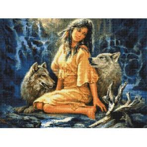 Древнее племя Алмазная вышивка (мозаика) Sddi Anya