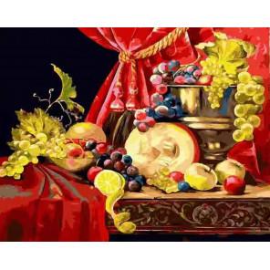 Натюрморт с тыквой Раскраска картина по номерам CG2026