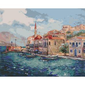 Морской пейзаж Раскраска картина по номерам CG2007