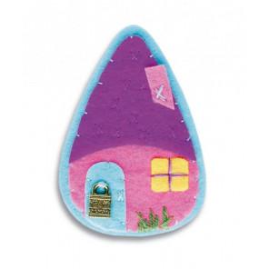 Дом Брошка Набор для создания игрушки своими руками Перловка ПБР-1002