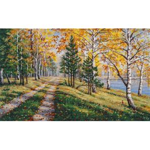 Осенняя пора Набор для вышивания Овен 1294