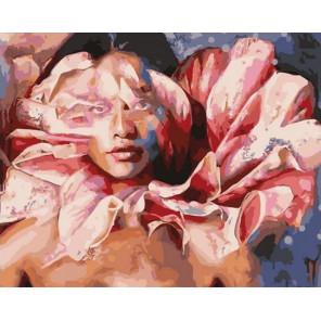 Душа цветка Раскраска картина по номерам на холсте PK11403