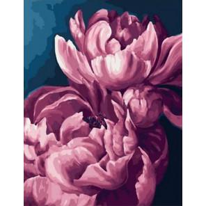 Шелковый цветок Раскраска картина по номерам на холсте PK11432