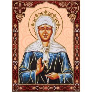 Икона Матрона Московская Алмазная вышивка мозаика Алмазное хобби AH5524