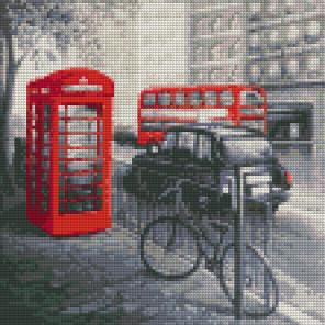 Лондон Алмазная вышивка мозаика Color kit DF1003
