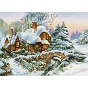 Зимний пейзаж Набор для вышивания LUCA-S BU5001