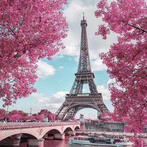 Париж Алмазная вышивка мозаика Molly KM0922