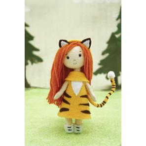 Девочка-тигренок Набор для создания игрушки своими руками Molly ЗВ-2