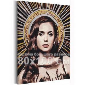 Елена Дневники вампира 80х100 см Раскраска картина по номерам на холсте с металлической краской AAAA-RS368-80x100