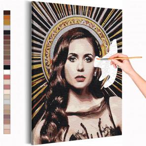 Елена Дневники вампира Раскраска картина по номерам на холсте с металлической краской AAAA-RS368