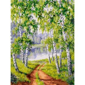 Из рощи Раскраска ( картина ) по номерам акриловыми красками на холсте Белоснежка