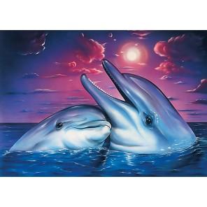 Ночь в море Алмазная мозаика вышивка Гранни | Алмазная мозаика купить