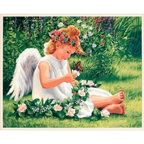 Милый ангел 91312 Раскраска по номерам Dimensions