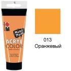 013 Оранжевый Acryl Color акриловая краска Marabu