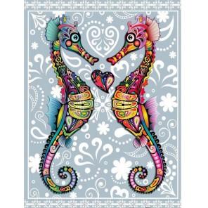 Морские коньки Алмазная мозаика (вышивка) Гранни