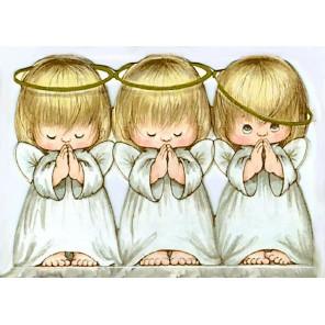 Ангелочки Алмазная мозаика (вышивка) Гранни