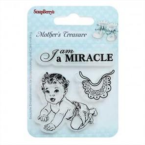 Малышка Мамины Сокровища Штампы прозрачные для скрапбукинга, кардмейкинга ScrapBerry's