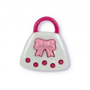Сумочка розовая Пуговицы декоративные