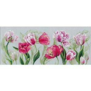 Весенние тюльпаны Набор для вышивания Риолис